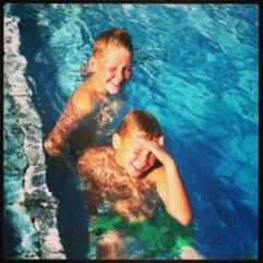 Älskar att bada